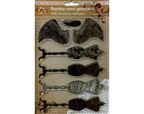 Gelová razítka - Andělská křídla
