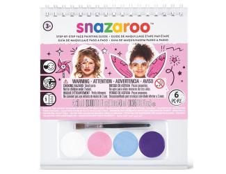 Barvy na obličej A6 s postupem - dívky