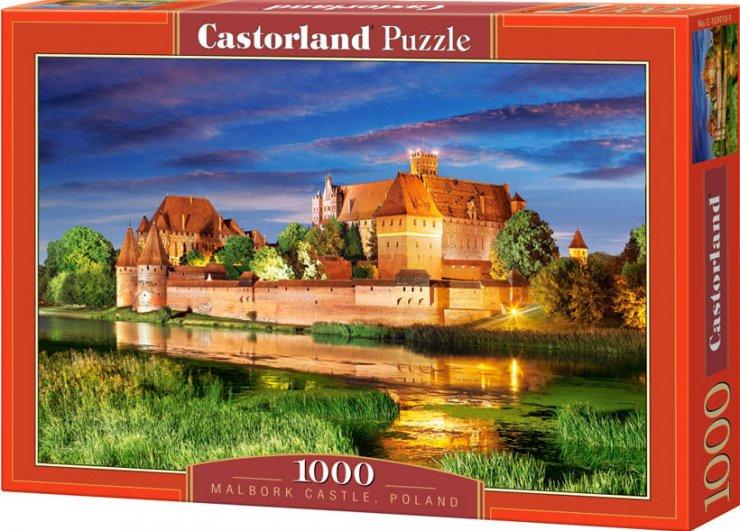 Puzzle Castorland 1000 dílků - Malbork Polsko
