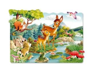 Puzzle maxi 20 dílků- Koloušek