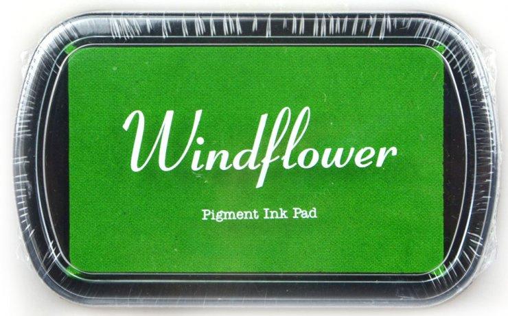 Polštářek pro razítkování na papír - světle zelená