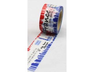 Dekorační lepicí páska - WASHI pásky-1ks Francie
