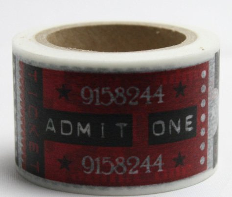 Dekorační lepicí páska - WASHI pásky-1ks ONE