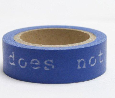 Dekorační lepicí páska - WASHI pásky-1ks.. live does not...