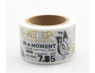 Dekorační lepicí páska - WASHI pásky-1ks In a Moment