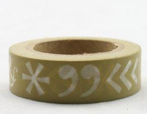Dekorační lepicí páska - WASHI pásky-1ks &*