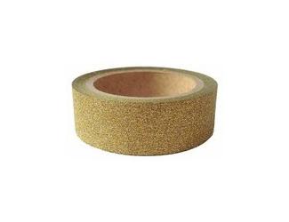 Dekorační lepicí páska glitrová - WASHI tape - zlatá