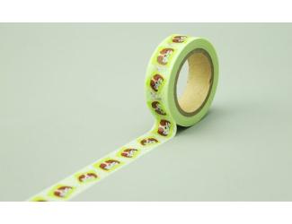 Dekorační lepicí páska - WASHI pásky-1ks psi