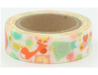 Dekorační lepicí páska - WASHI pásky-1ks dětské