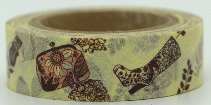 Dekorační lepicí páska - WASHI pásky-1ks Dámské boty