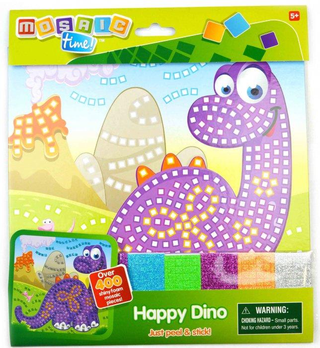 Mozaikový obrázek 25x25cm - Dino