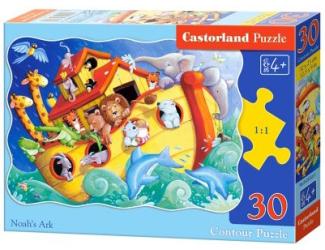 Puzzle 30 dílků - Noemova archa