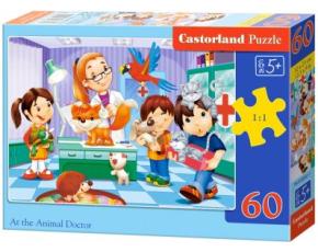 Puzzle Castorland 60 dílků - U veterináře