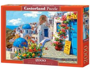 Puzzle Castorland 2000 dílků - Jaro na Santorini