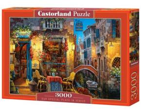 Puzzle Castorland 3000 dílků - Váš kousek Benátek