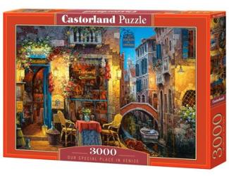 Puzzle 3000 dílků- Váš kousek Benátek