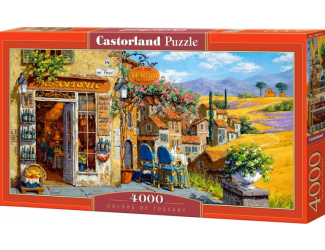 Puzzle 4000 dílků - Barvy Toskánska