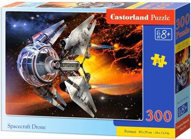Puzzle 300 dílků- Vesmírný dron