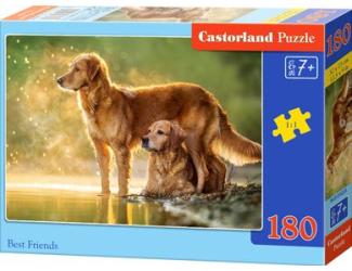 Puzzle 180 dílků - Nejlepší přátelé