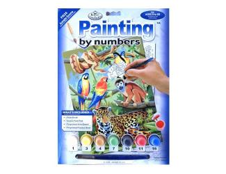 Malování podle čísel- Džungle