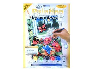 Malování podle čísel- Motýli