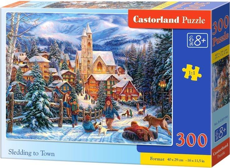 Puzzle 300 dílků- Vánoční atmosféra