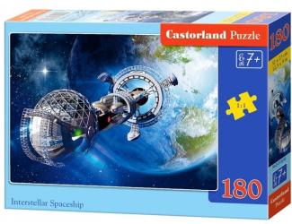 Puzzle 180 dílků - Vesmírná loď