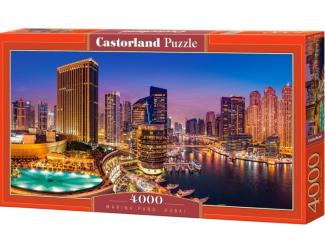 Puzzle Castorland 4000 dílků - Marina Pano, Dubai
