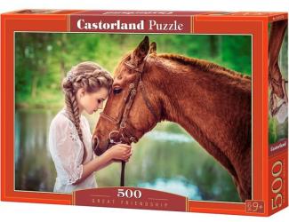 Puzzle Castorland 500 dílků - Obrovské přátelství
