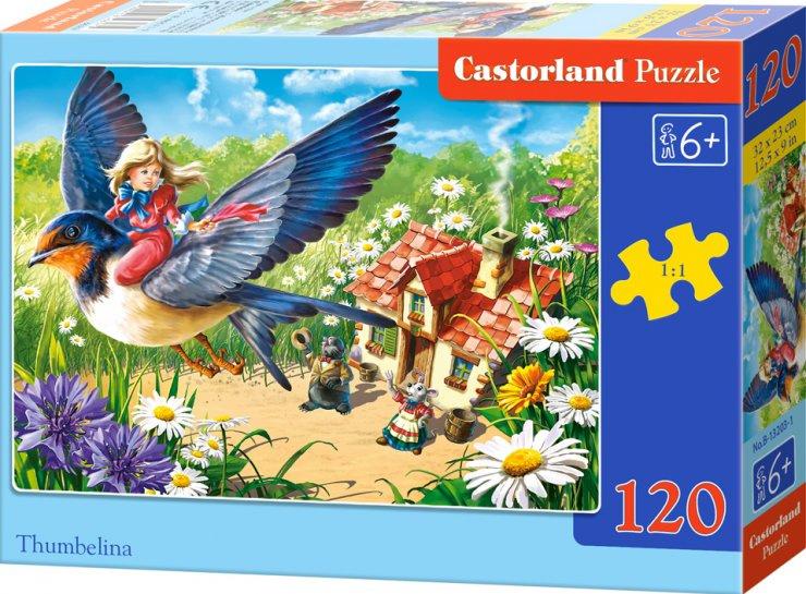 Puzzle Castorland 120 dílků - Malenka