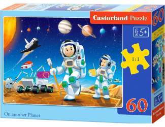 Puzzle 60 dílků - Na jiné planetě