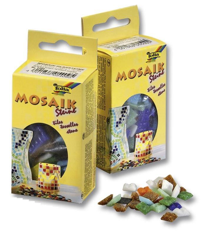 Mozaikové kamínky mix 10x10mm