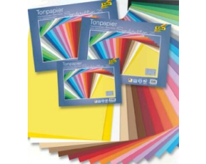 Barevné papíry 25ks (25x35cm,130g)