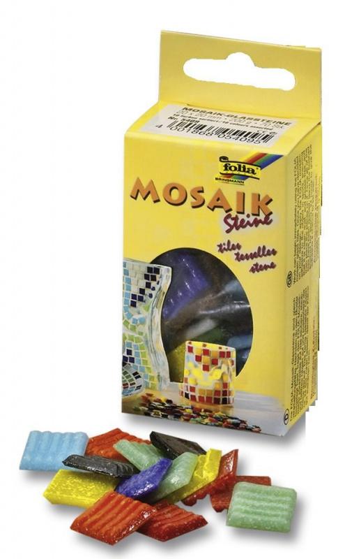 Mozaikové kamínky mix 20x20mm