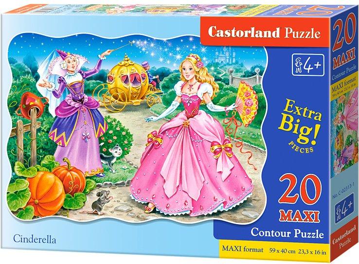Puzzle Castorland MAXI 20 dílků - Popelka