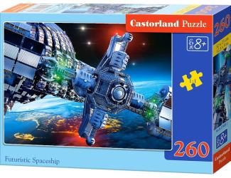 Puzzle 260 dílků- Kosmická loď