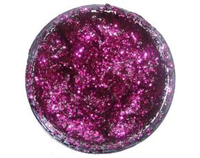 Třpytivý gel 12 ml- Fialový