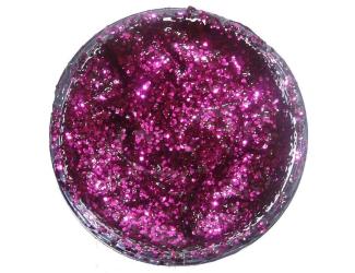 Třpytivý gel 12ml- Fialový
