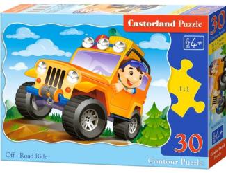 Puzzle Castorland 30 dílků - Jízda v Off-Roadu