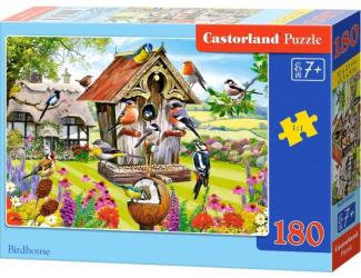 Puzzle 180 dílků - Ptačí budka