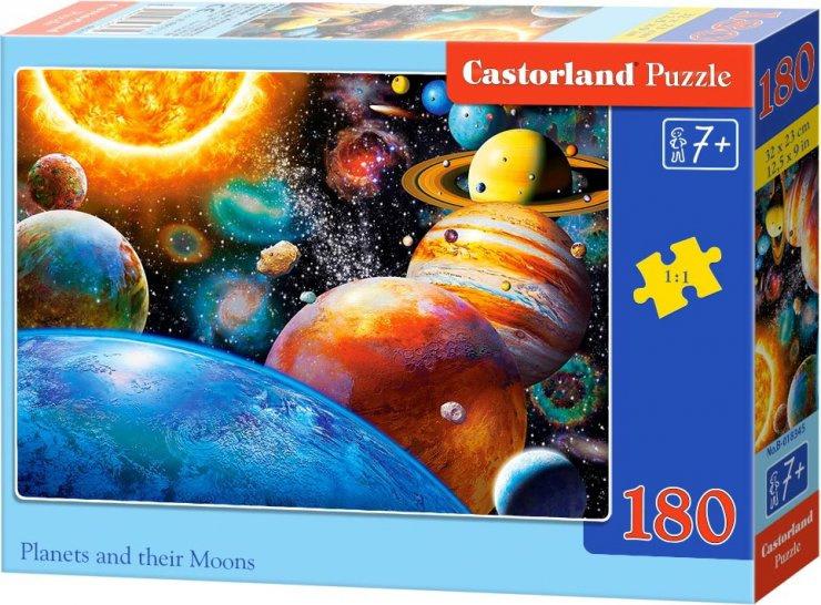 Puzzle Castorland 180 dílků - Planetky