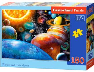 Puzzle 180 dílků - Planetky