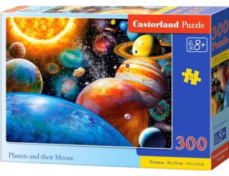 Puzzle 300 dílků- Planetky