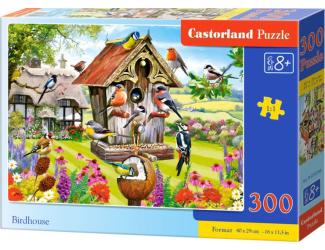 Puzzle 300 dílků- Ptačí budka
