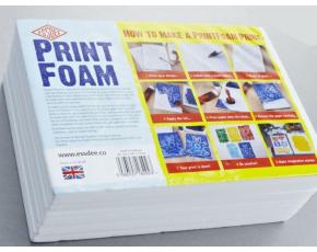 Tiskařská pěna, 210x295x10 mm 10 archů (A4)