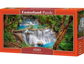 Puzzle 600 dílků - Krásný vodopád