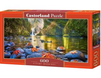 Puzzle 600 dílků - Ráno u řeky
