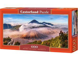Puzzle 600 dílků - Sopka Bromo, Indonesia