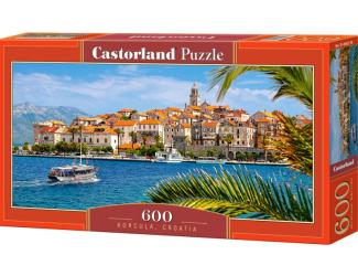 Puzzle 600 dílků - Korčula, Chorvatsko