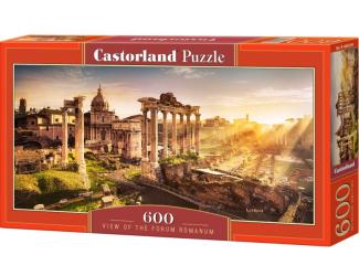 Puzzle 600 dílků - Výhled na římské památky